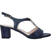 Scarpe Donna Sandali Melluso HK95360 Blu