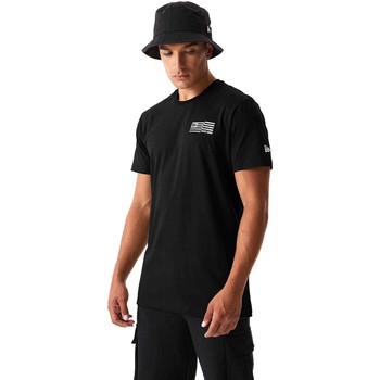 Abbigliamento Uomo T-shirt & Polo New-Era 12590875 Nero