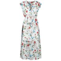 Abbigliamento Donna Abiti lunghi Moony Mood OLICA Bianco / Multicolore
