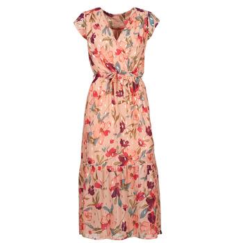 Abbigliamento Donna Abiti lunghi Moony Mood OLICA Rosa / Multicolore