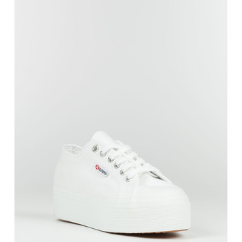 Scarpe Donna Sneakers Superga SCARPA 2790 LOW ZEPPA UP AND DOWN bianco (901WHT)
