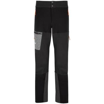 Abbigliamento Uomo Pantaloni Salewa Comici Nero
