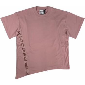 Abbigliamento Donna T-shirt maniche corte Iceberg 3767-48 Rosa