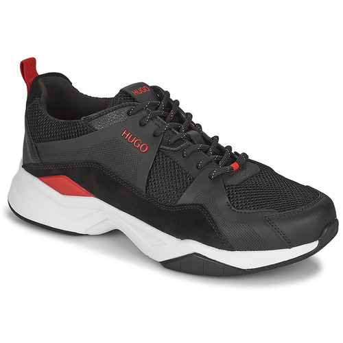 Scarpe Uomo Sneakers basse HUGO BLOCK RUNN Nero