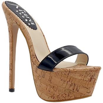 Scarpe Donna Ciabatte Kiara Shoes KH102 Nero