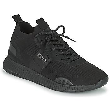 Scarpe Uomo Sneakers basse BOSS TITANIUM RUNN KNST1 Nero