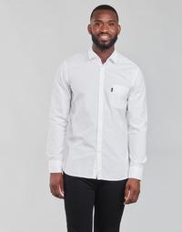 Abbigliamento Uomo Camicie maniche lunghe BOSS MAGNETON Bianco
