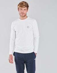 Abbigliamento Uomo T-shirts a maniche lunghe BOSS TACKS Bianco