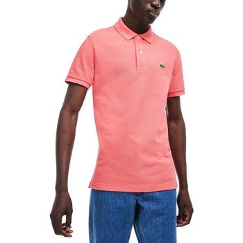 Abbigliamento Uomo Polo maniche corte Lacoste PH4012-F9C Rosa