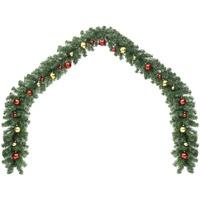 Casa Decorazioni natalizie VidaXL Ghirlanda natalizia 5 m Verde