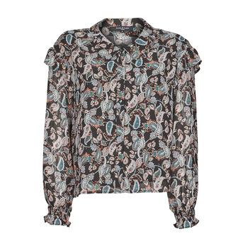 Abbigliamento Donna Top / Blusa Betty London OCARA Nero / Multicolore
