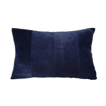 Casa cuscini Present Time RIBBED Blu / Nuit