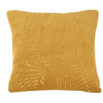 Casa cuscini Present Time PALM LEAVES Caramel