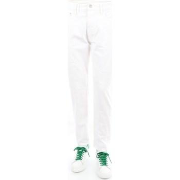 Abbigliamento Uomo Pantaloni 5 tasche Cycle P531128 Regular Uomo Bianco Bianco