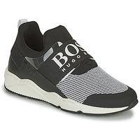 Scarpe Sneakers basse BOSS NATINA Nero / Bianco