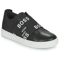 Scarpe Sneakers basse BOSS KAMILA Nero / Bianco