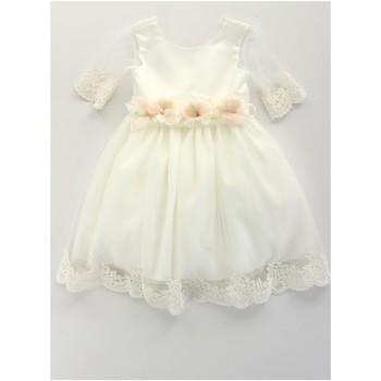 Abbigliamento Bambina Abiti corti Bella Brilli BB402157 Avorio