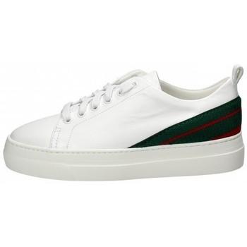 Scarpe Donna Sneakers basse Stokton Sneaker in pelle Bianco Bianco