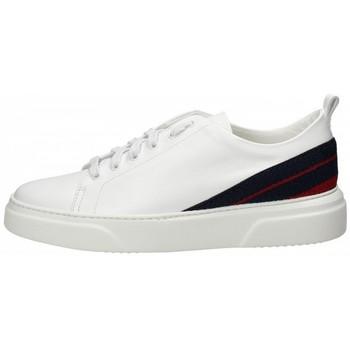 Scarpe Uomo Sneakers basse Stokton Sneaker in pelle Bianco Bianco