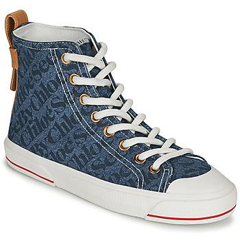 Scarpe Donna Sneakers alte See by Chloé ARYANA Blu