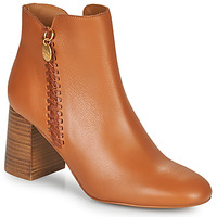 Scarpe Donna Stivaletti See by Chloé LOUISEE Camel
