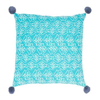 Casa cuscini Jardin d'Ulysse CAP-OUEST Blu