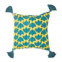 Casa Fodere per cuscini Sema FEUILLAGE Blu