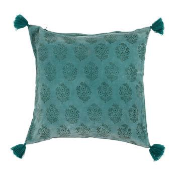 Casa Fodere per cuscini Sema BAYLEEN Blu / Smeraldo