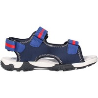 Scarpe Bambino Sandali Docksteps - Sandalo blu/rosso BOXE1 BLU
