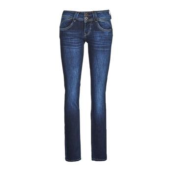 Abbigliamento Donna Jeans dritti Pepe jeans NEW GEN Blu / Dh3