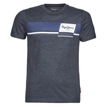 Abbigliamento Uomo T-shirt maniche corte Pepe jeans KADE Blu