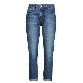 Abbigliamento Donna Jeans dritti Pepe jeans VIOLET Blu / Medium