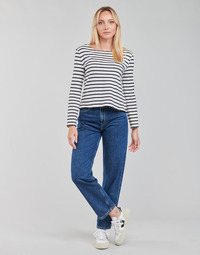 Abbigliamento Donna Jeans dritti Pepe jeans DOVER Blu / Medium