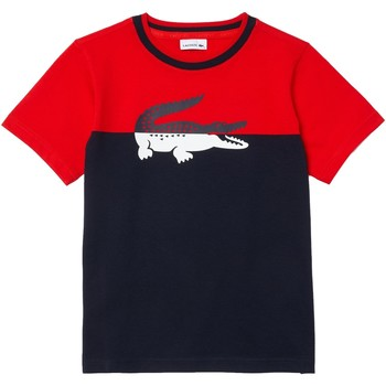 Abbigliamento Bambino T-shirt maniche corte Lacoste tj2303 nd