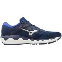 Scarpe Donna Running / Trail Mizuno Wave Horizon 4 Blu marino