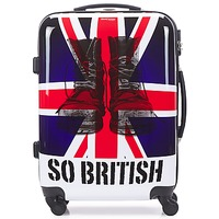 Borse Valigie rigide David Jones UNION JACK 53L Multicolore