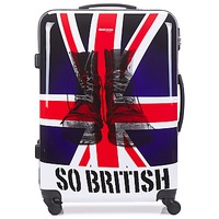 Borse Valigie rigide David Jones UNION JACK 83L Multicolore
