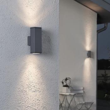Casa Lampade da esterno  Konstsmide Lampada da parete 10 x 6.5 x 20 cm Antracite