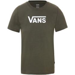 Abbigliamento Donna T-shirt maniche corte Vans Flying V Classic Verde