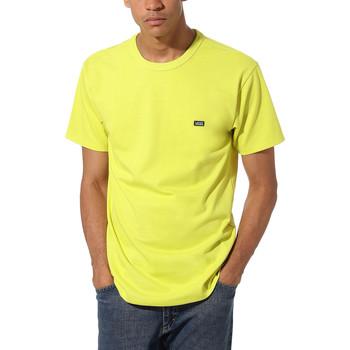 Abbigliamento Uomo T-shirt maniche corte Vans Off The Wall Classic Giallo