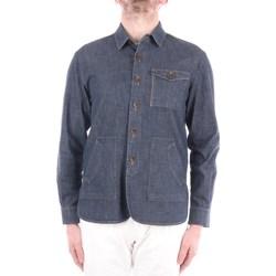 Abbigliamento Uomo Camicie maniche lunghe Manuel Ritz 3032G2440LX-213019 Corte Uomo Jeans Jeans