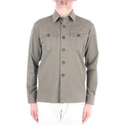 Abbigliamento Uomo Camicie maniche lunghe Manuel Ritz 3032G2441LX-210002 Corte Uomo Verde militare Verde militare