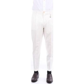 Abbigliamento Uomo Chino Manuel Ritz 3032P1658T-213003 Classici Uomo Bianco Bianco