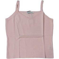 Abbigliamento Donna Top / T-shirt senza maniche Ferrante ATRMPN-25887 Rosa