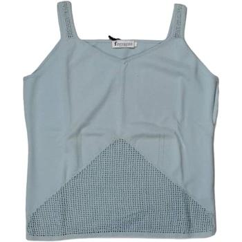 Abbigliamento Donna Top / T-shirt senza maniche Ferrante ATRMPN-25888 Blu