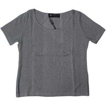Abbigliamento Donna T-shirt maniche corte Lancetti ATRMPN-25892 Grigio