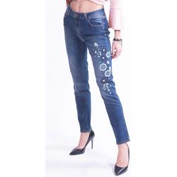 Abbigliamento Donna Jeans slim Donatella De Paoli 18D1141 Colourless