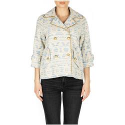 Abbigliamento Donna Giacche Front Street 8 ETHNIC WOMAN PEACOT azzurro