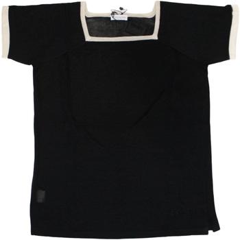 Abbigliamento Donna T-shirt maniche corte Ferrante ATRMPN-25905 Nero