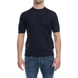 Abbigliamento Uomo T-shirt maniche corte Alpha Studio AU4020CS 1027 BLU Blu Notte